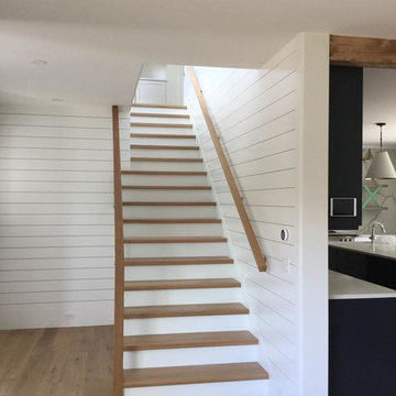 Contemporary Glass System Staircase