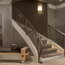 Transitional Staircase by The Design Source Ltd