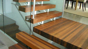 Contemporary Ipe Staircase