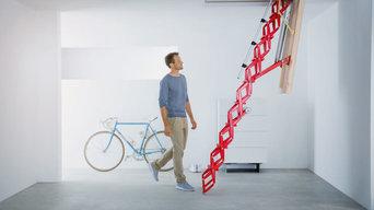 Contemporary Loft Ladders
