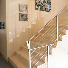 Contemporary Staircase by Michael Greenberg & Associates