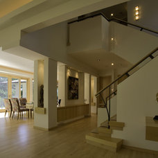 Contemporary Staircase by SKD Architects