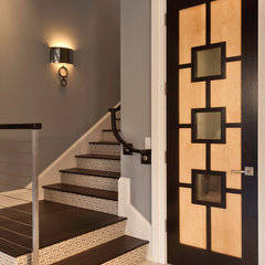 contemporary staircase by Weber Design Group, Inc.