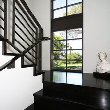 Contemporary Staircase by Abramson Teiger Architects