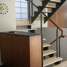 Contemporary Staircase by Ana Williamson Architect