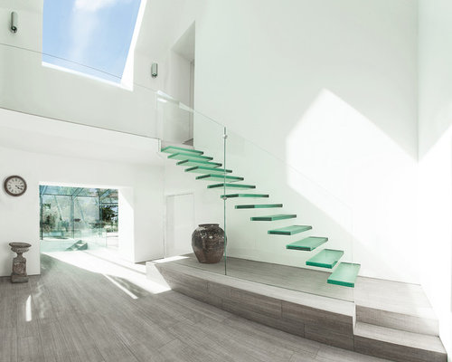 Floating Staircase Home Design Ideas Pictures Remodel