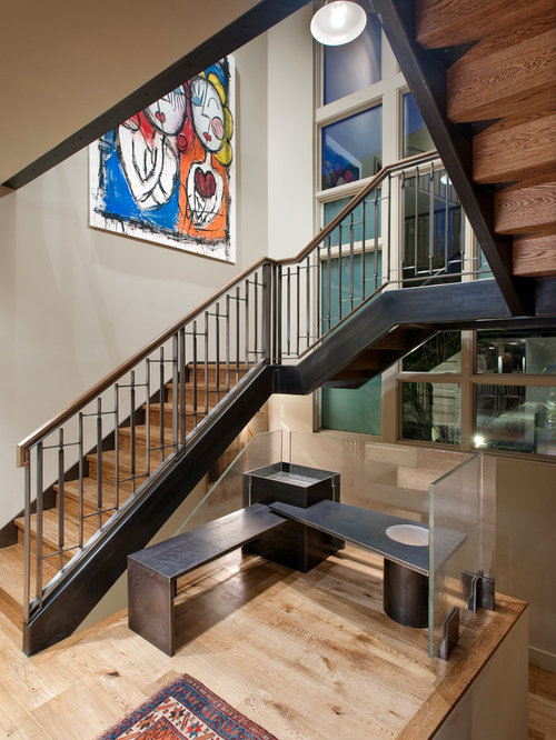Closed Staircase Remodel