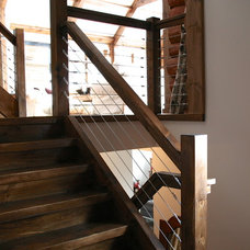 Contemporary Staircase by catlin stothers design