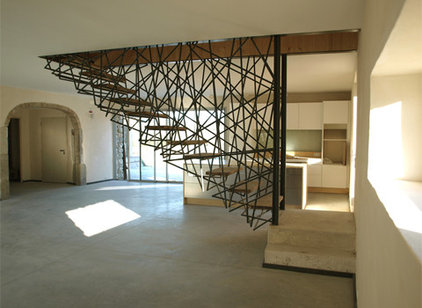 Contemporary Staircase by Christine L. Cardeño