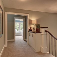 Contemporary Staircase by Highmark Builders