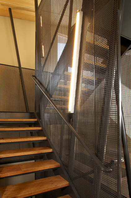 Contemporary Staircase by HMH Architecture + Interiors