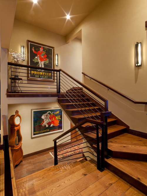 Houzz Two Tone Stair Design Ideas Amp Remodel Pictures