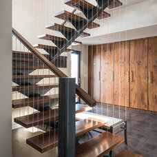 Contemporary Staircase by Pearson Design Group