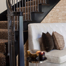Contemporary Staircase by Smith Firestone Associates