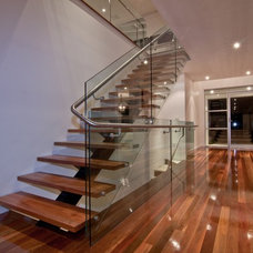 Contemporary Staircase by Square Design Pty Ltd