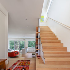 Contemporary Staircase by Stephen Moser Architect