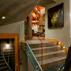 Contemporary Staircase by Sublime Interior Design