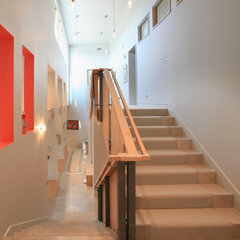 contemporary staircase by THINK Architecture - John Shirley