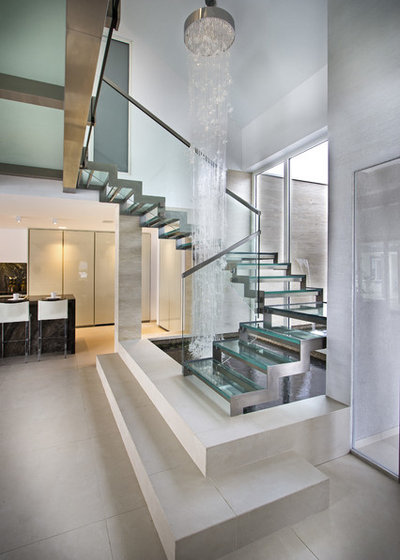Contemporain Escalier Contemporary Staircase