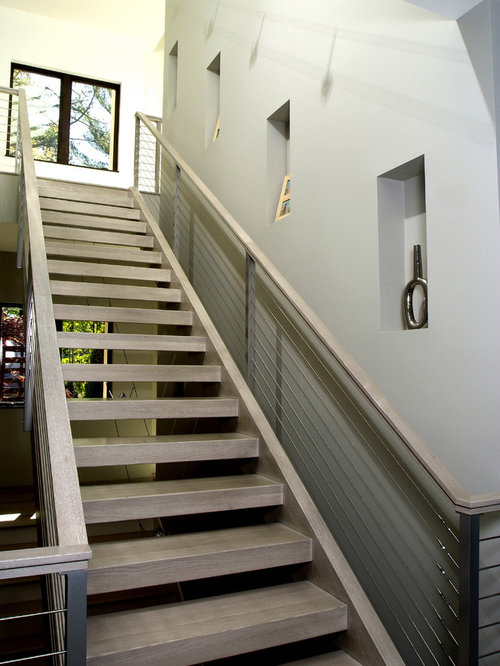 Prefabricated stairs home design ideas pictures remodel for Prefabricated staircase