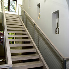 Contemporary Staircase by Visbeen Architects
