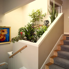 Contemporary Staircase by Lila Levinson