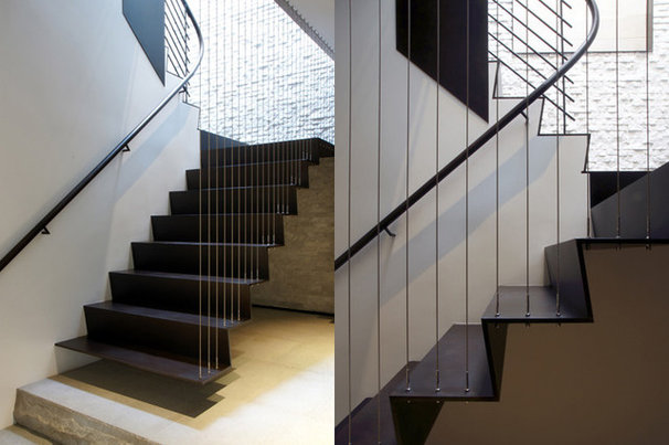 Contemporary Staircase by Workshop/apd
