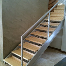 Modern Staircase by HENDRICKS LLC