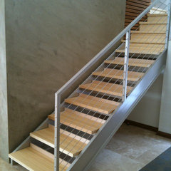 modern staircase by HENDRICKS LLC