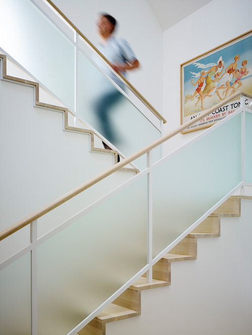Beach Style Staircase Design Ideas Remodels Amp Photos