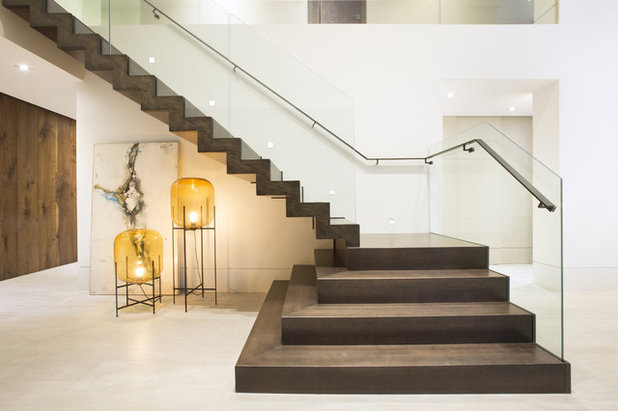 Contemporary Staircase by DKOR Interiors Inc.- Interior Designers Miami, FL