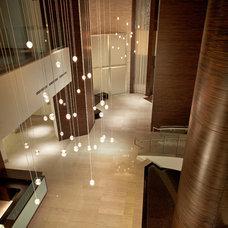 Contemporary Staircase by Pepe Calderin Design- Modern Interior Design