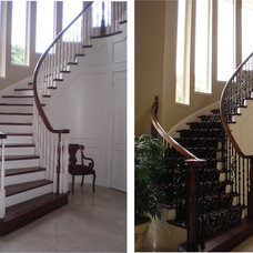 Traditional Staircase by Dallas Renovation Group