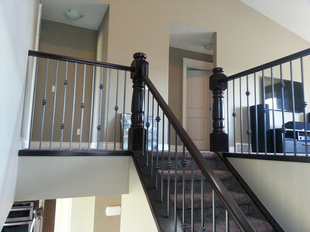 Traditional Staircase by Timber-Tech Stairs & Railing