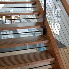 Contemporary Staircase by PDX Living, LLC