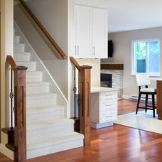 Traditional Staircase by Best Builders ltd