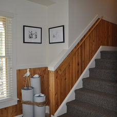 Beach Style Staircase by Albemarle Contractors, Inc.