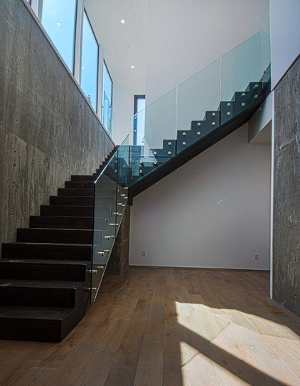 Modern staircase by christiano homes