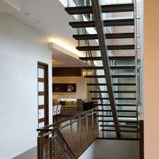 Modern Staircase by Nicholas Design Collaborative