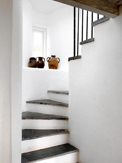 Mediterranean Staircase by Marion Lichtig Ltd