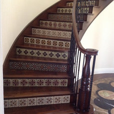 Mediterranean Staircase by Green Construction
