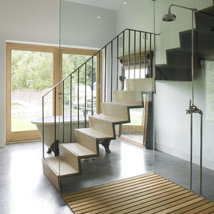 Design ideas for a contemporary staircase in London.