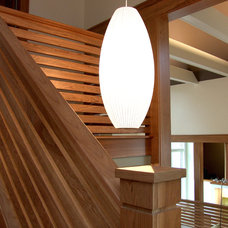 Contemporary Staircase by TreHus Architects+Interior Designers+Builders