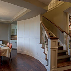 Traditional Staircase by D.T. Carlson Co.