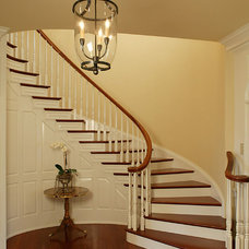 Traditional Staircase by Bruce Palmer Interior Design