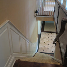Traditional Staircase by Van Cleave Woodworking, Inc.