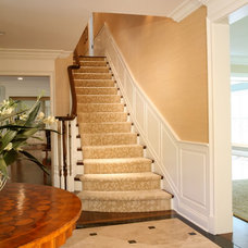 Traditional Staircase by Scott Simpson Builders