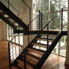 Contemporary Staircase by All Australian Architecture