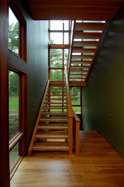 Modern Staircase by Stanev Potts Architects