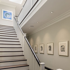 contemporary staircase by Matarozzi Pelsinger Builders